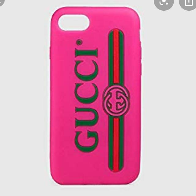 Gucci - GUCCI iPhoneケース シリコン 7 8の通販