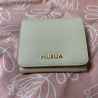 MURUA - MURUA 二つ折り財布