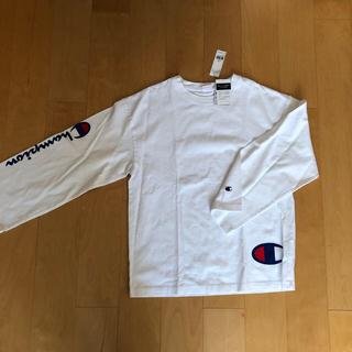チャンピオン(Champion)のチャンピオン ロングTシャツ 新品(Tシャツ(長袖/七分))
