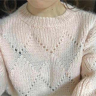 ロキエ(Lochie)のboudoir pink knit(ニット/セーター)