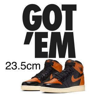 NIKE - NIKE AIR JORDAN 1 RETRO HIGH OG GS シャタバ