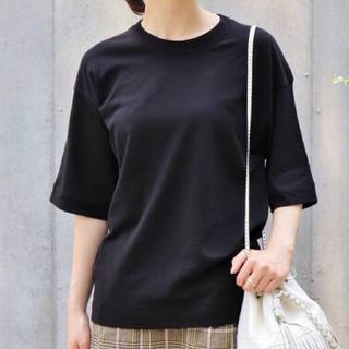 IENA - 新品タグ付き IENA Tシャツ ブラック