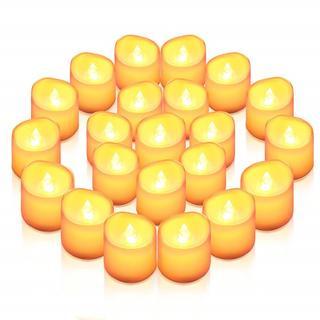 癒しの灯り LEDキャンドル ライト ろうそく 24個セット