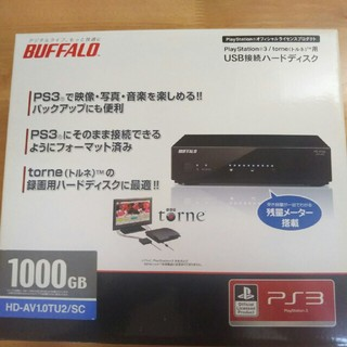 Buffalo - バッファロー buffalo HD-AV1.0TU2/SC PS3/torne用
