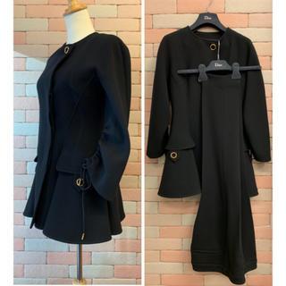 クリスチャンディオール(Christian Dior)の2回使用¥70万品 クリスチャンディオール プレタポルテ パンツスーツ M 黒(スーツ)