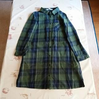 THE EMPORIUM - 綿*コットンワンピース ロングシャツ