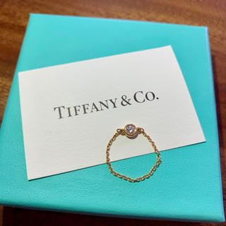 ティファニー(Tiffany & Co.)の【箱 リボン 証明書 ショッパー有】ティファニー バイザヤード リング 13号(リング(指輪))