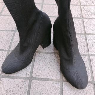 ベルシュカ(Bershka)のBershka ソックスブーツ(ブーツ)