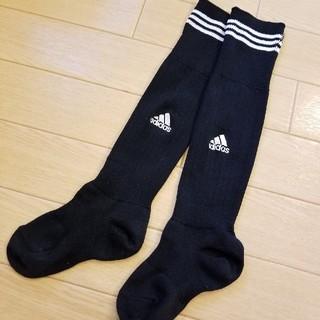 adidas - adidas サッカーソックス 15㎝位
