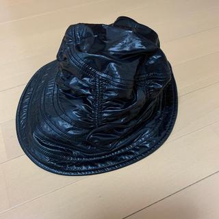 ランバン(LANVIN)のLANVIN帽子黒(ハット)