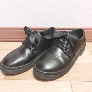 ウィゴー(WEGO)のWEGO Mサイズ ブラック 革靴(ローファー/革靴)