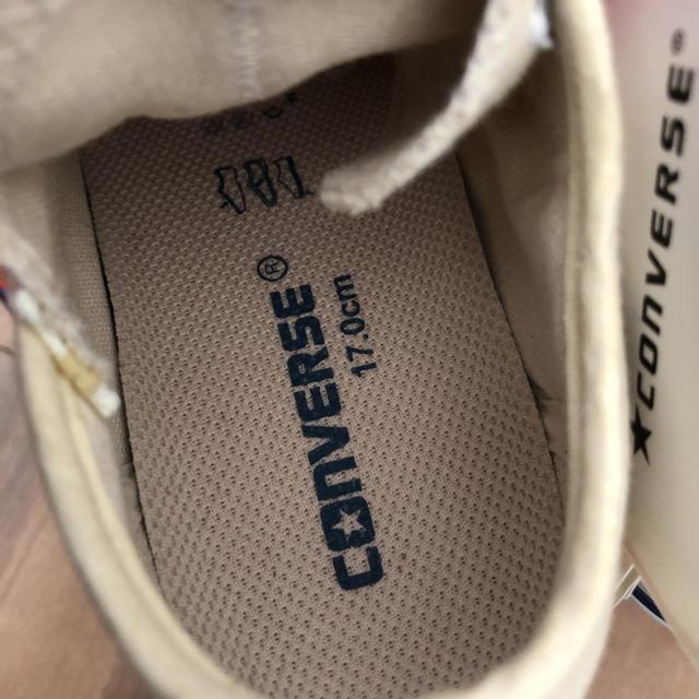 CONVERSE(コンバース)の新品未使用!コンバース ローカット キッズ/ベビー/マタニティのキッズ靴/シューズ (15cm~)(スニーカー)の商品写真