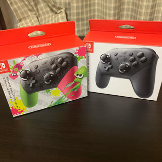 Nintendo Switch - 新品プロコントローラー セット 任天堂スイッチ スプラトゥーン  switch