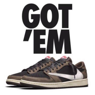NIKE - TRAVIS SCOTT × NIKE AIR JORDAN 1 LOW