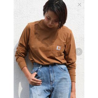 carhartt - カーハート carhartt 長袖 tシャツ ブラウン 茶