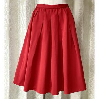 エフデ(ef-de)のNECOBRAND ef-de 赤スカート(ひざ丈スカート)