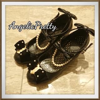Angelic Pretty - AngelicPretty シネマドールシューズ BLK