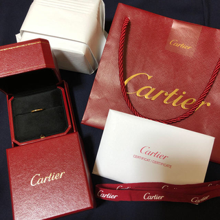 カルティエ(Cartier)のカルティエ クラッシックリング(リング(指輪))