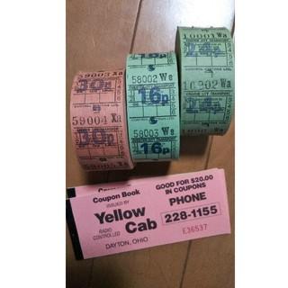 専用 バスチケット イエローキャブ 海外チケット(印刷物)