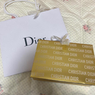 クリスチャンディオール(Christian Dior)のDIOR ショッパー ギフトボックス クリスマス限定🎄(ショップ袋)