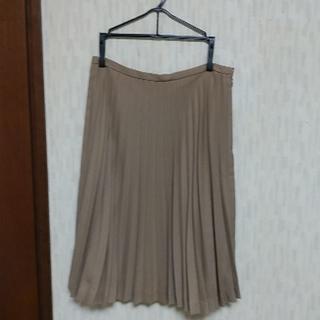 シップス(SHIPS)のプリーツスカート(ひざ丈スカート)