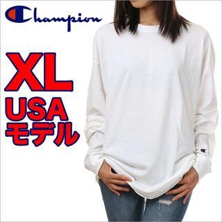 チャンピオン(Champion)の【新品】長袖 Tシャツ(Tシャツ(長袖/七分))