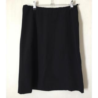 プラダ(PRADA)のPRADA スカート ブラック サイズ38(ひざ丈スカート)