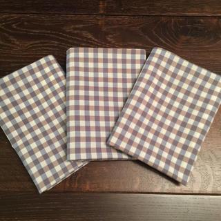 ムジルシリョウヒン(MUJI (無印良品))の無印良品 ギンガムチェック 枕カバー 3枚組(枕)