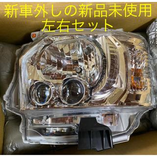 トヨタ - ハイエース 純正ヘッドライト LED 左右セット