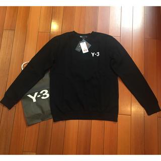 ワイスリー(Y-3)の Y-3サイズL定番黒スウェット(スウェット)