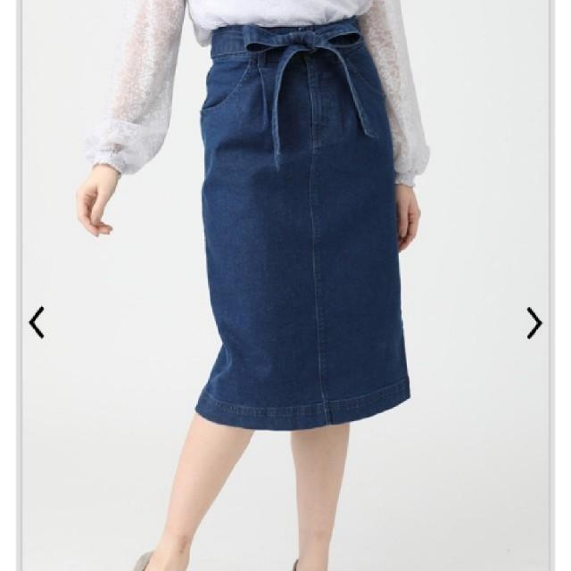 HONEYS(ハニーズ)のハニーズ デニム ナロースカート レディースのスカート(ひざ丈スカート)の商品写真