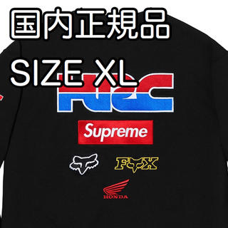 シュプリーム(Supreme)のXLサイズ Supreme Honda Fox Racing Crewneck(スウェット)