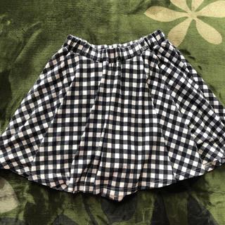 ハニーズ(HONEYS)のハニーズ チェックスカート ミニスカート(ひざ丈スカート)