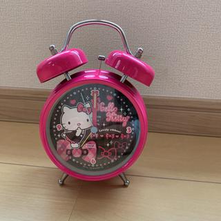 ハローキティ(ハローキティ)のハローキティ 目覚まし時計(置時計)