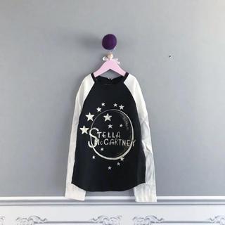 ステラマッカートニー(Stella McCartney)の⚫︎STELLA McCARTNEY⚫︎STELLAロゴ ラグラントップス10Y(Tシャツ/カットソー)