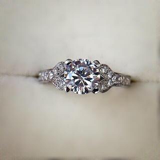 Cartier - sona ダイヤモンド リング 指輪 9号 人工ダイヤモンド