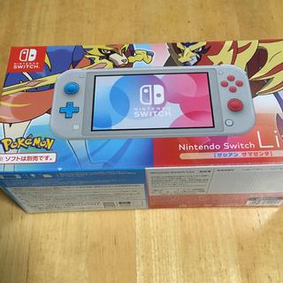 Nintendo Switch - ニンテンドースイッチライト ポケモン限定版 ザシアン ザマゼンダ 即日対応