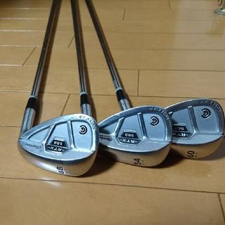 クリーブランドゴルフ(Cleveland Golf)のクリーブランド588RTX2.0CB 48.54.60 3本セット(クラブ)