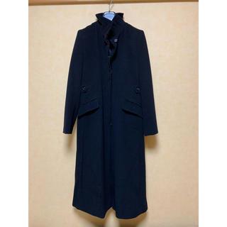 LE CIEL BLEU - KYOKO TAKASE  黒のデザインロングコート