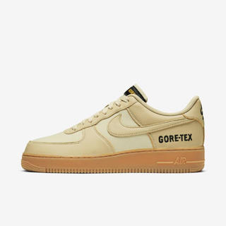 NIKE - NIKE AIR FORCE 1 low Gore-Tex ゴールド 27.5㎝