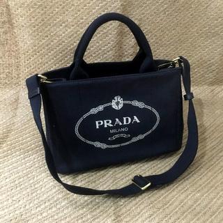 PRADA - プラダ 2WAY カナパ バッグ ネロブラック