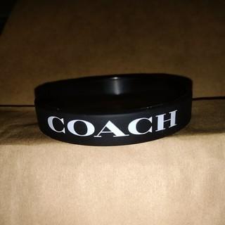 コーチ(COACH)のコーチ シリコンブレスレット 非売品(ブレスレット/バングル)