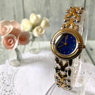 Saint Laurent - 【電池交換済】Yves Saint Laurent Yベルト 腕時計 レディース