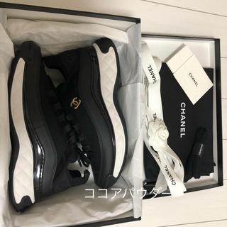 CHANEL - CHANEL 新作 新品 シャネル スニーカー sneaker レア 39