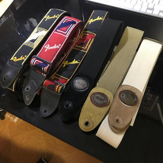 Fender - Fender ギターストラップ 6本セット