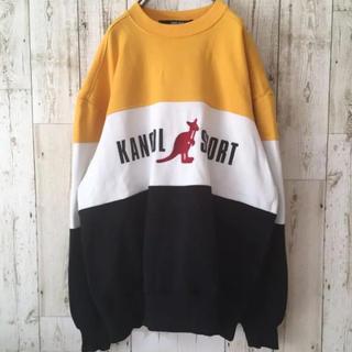 カンゴール(KANGOL)のKANGOL カンゴール スウェット トレーナー ロゴ 刺繍 フリーサイズ(スウェット)
