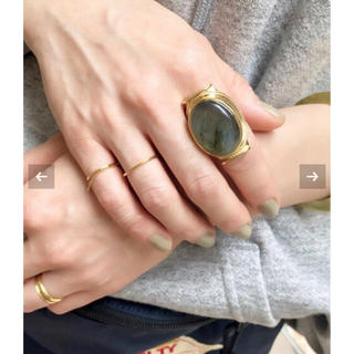 DEUXIEME CLASSE - Deuxieme Classe✴︎MARIHA Labradorite Ring
