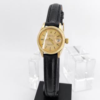 ロレックス(ROLEX)の【OH済/仕上済】ロレックス デイトジャスト K18 金無垢 レディース 腕時計(腕時計)