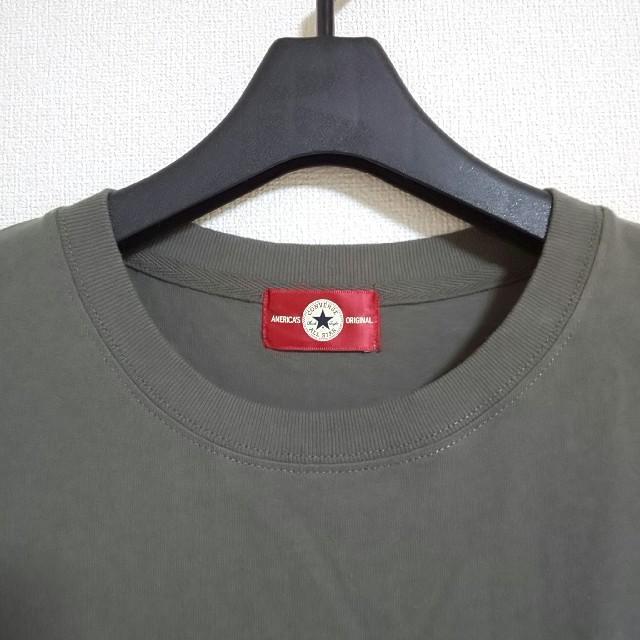 CONVERSE(コンバース)のしまむら CONVERSE コンバース 七分袖Tシャツ レディースのトップス(Tシャツ(長袖/七分))の商品写真