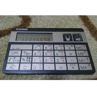 カシオ(CASIO)のカシオ製カードサイズ電卓DC-750K (オフィス用品一般)